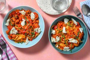 One pot pasta : linguine au chorizo image