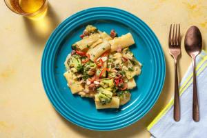One-Pot-Rigatoni mit Chorizo image