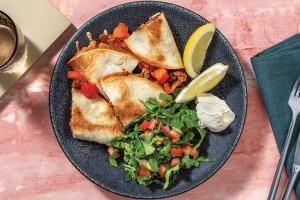 Baked Beef & Corn Quesadillas image