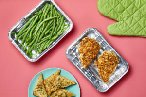 Oven-Ready Dijon Onion Crunch Chicken image
