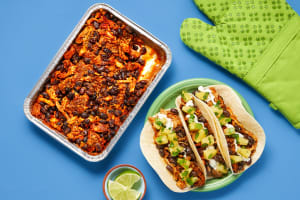 Oven-Ready Pulled Pork & Black Bean Tacos image
