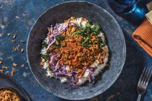 Honey-Soy Beef & Garlic Rice Bowl image