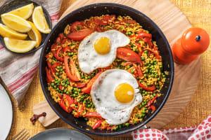 Paella Con Huevos image