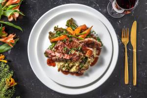 Pan-Fried Lamb Steak image