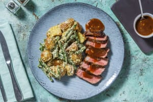 Pan-Seared Steak image