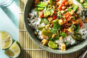 Panang Tofu Curry image