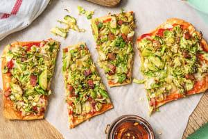 Pancetta Flatbread Pizzas image