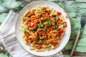 Paprika-Spiced Chicken in Paprikash Sauce image