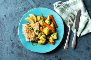 Parmesan-Crusted Cod image