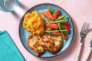 Parmesan-Crusted Pork Chops image