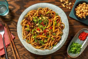 Peanut Satay Noodles image