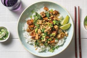 Peking Tofu & Mushroom Stir-Fry image