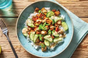 Peking Tofu Poke Bowl image