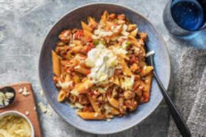 Snelle pasta met Mexicaanse twist image