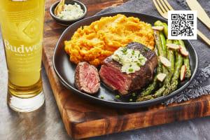 Peppercorn-Crusted Beef Tenderloin image