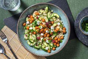 Perlencouscous-Salat mit Ziegenkäse image