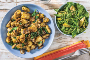 Pesto, Mushroom & Parmesan Gnocchi image