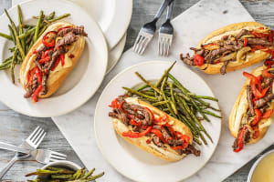 Philly Cheesesteak Sandwiches image
