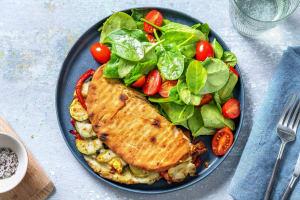 Pesto Mozzarella Piadina-Style Sandwiches image