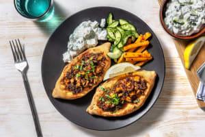 Pide : pizza turque au boeuf haché & persil image