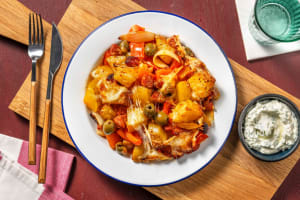 Pikanter Chorizo-Auflauf mit Kartoffeln & Käsekruste image