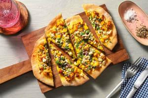 Tre Stelle Saag Paneer Pizza image