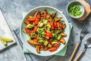 Plant Based Chilli Loaded Sweet Potato Fries image