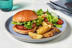 Plant Based Harissa Burger image