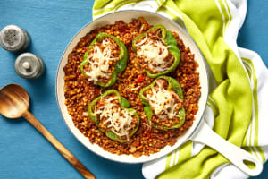 Plant-Based Protein Stuffed Peppers image