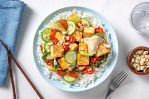 Poke bowl med tofu image