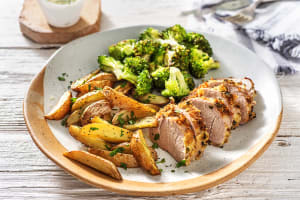 Mustard and Herb-Crusted Pork image