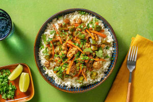 Pork and Peppers in Peanut Sauce image