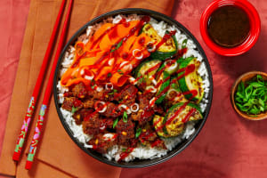 Pork and Veggie Bibimbap image