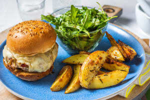 Pork & Apple Burger image