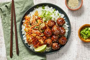 Pork Teriyaki Meatballs image