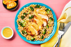 Pork Chops With Creamy Lemon Pan Sauce image