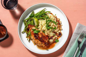 Pork Chops with Spicy Cherry Sauce image