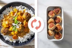 Pork Meatball Massaman Style Curry image