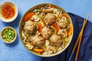 Pork Meatball & Mushroom Ramen image