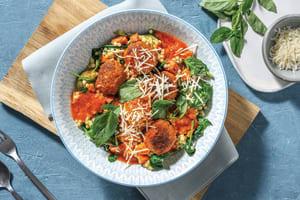Pork Polpette & Pearl Couscous Bowl image