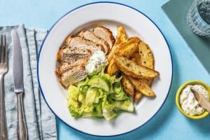 Pork Souvlaki Plate image