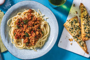 Pork & Veggie Spaghetti Bolognese image