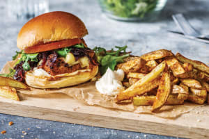 Portuguese-Style Chicken Burger image