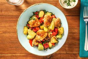 Portuguese-Style Sheet Pan Chicken image