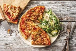 Potato, Garlic & Rosemary Pizza image