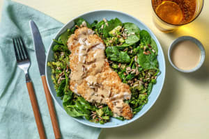 Carb Smart Tahini Drizzled Chicken image