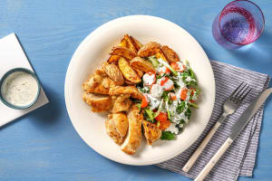 Honey Garlic Tossed Chicken image