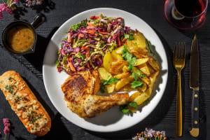 Crispy-Skinned Chicken Dinner image