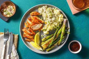 Backyard BBQ Style Chicken Dinner image