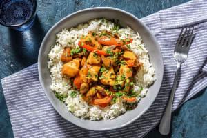 Kip stroganoff met rijst image